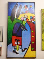 OTMAR ALT - original Acryl-Gemälde ansehen