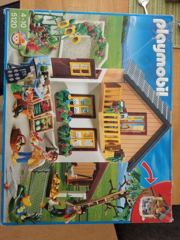 Playmobil Bauernhaus mit Hofladen 5120