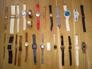 Armbanduhren 72 Stück