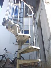 Wendeltreppe verzinkter Stahl
