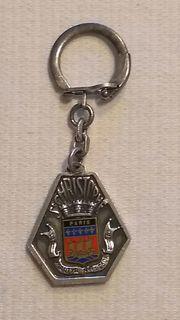 Schlüsselanhänger Paris Medaille Wappen u