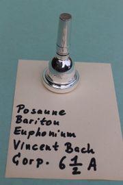 Posaune Bariton Euphonium Mundstück Vincent