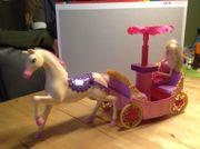 Barbie Kutsche mit Pferd