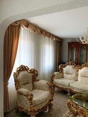 LUXUS Barock Massiv Sofa Set