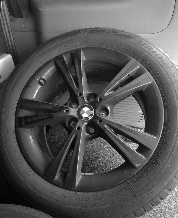 4 BMW X 1 Winterkompletträder