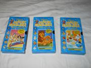 VHS Kassetten Märchen Disney Magic