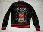 Philipp Plein Leather Jacket Alec