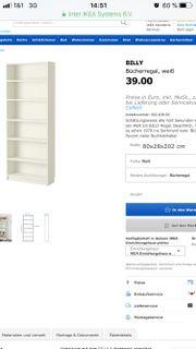 Regal Ikea Billy