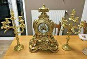 Antik Französische Uhr Kaminuhr Tischuhr