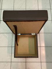 Hocker Sitzwürfel Sitzhocker Aufbewahrungsbox Farbe
