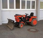 Hako Kommunaltraktor Diesel - mit Schneeschild