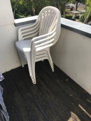 Gartenstühle mit Auflagen