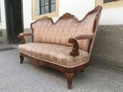 Sofa Vintage hübsches Teil Vollholz
