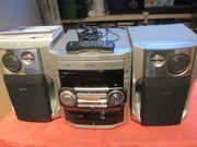 Philips Stereoanlage FW-C380 3 fach