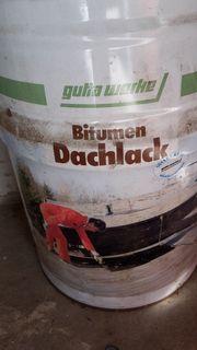 Dachlack Bitumen