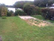 Pflasterarbeiten und Gartenarbeit auf kleinem