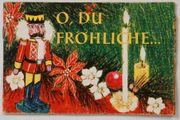 Altes Tchibo Weihnachtsheft Heft O