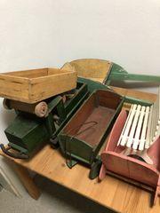 altes Spielzeug aus Kriegstagen