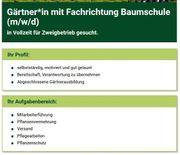 Gärtner mit Fachrichtung Baumschule m