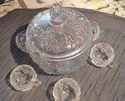 Bowle Set Bleikristall mit 6
