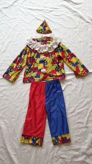 Clownkostüm Gr 110-116