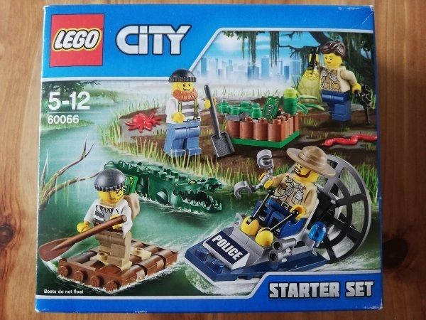 LEGO - CITY 60066 Sumpfpolizei