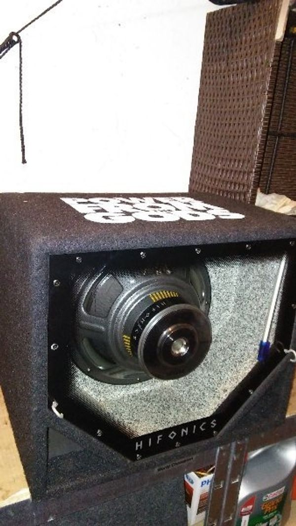 Hifonics Bass Kiste