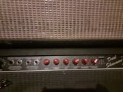 Fender Dual Showman Red Knob