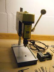 Tischbohrmaschine Proxxon und Feinmechanikerwerkzeug