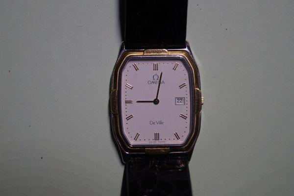 Damen Armbanduhr Omega De Ville