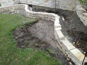 Trockenmauersteine Castellino Jura-Marmor