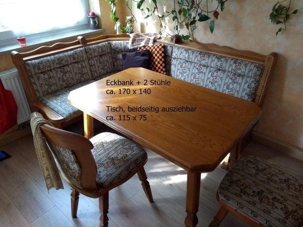 Eckbank Mit 2 Stühlen Und Tisch In Nürnberg Speisezimmer Essecken
