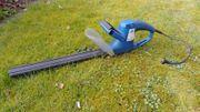 elektrische Heckenschere Schwert 45cm Schutzhülle