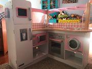 Kidkraft Kinderküche mit viel Markenzubehör