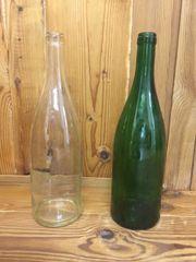 Glasflaschen, 1 Liter,