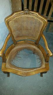 Antike HOLZ Stuhl