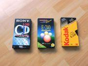 VHS Leerkassetten Kassetten Leer SONY