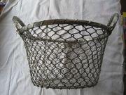 Drahtkorb Henkelkorb Metallkorb Korb aus