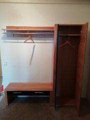 Garderobe Flurgarderobe und Garderobenschrank mit