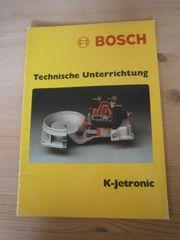 Bosch Technische Unterrichtungen 18Stck Youngtimer