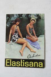 Werbebroschüre Elastisana Bademode anno dazumal