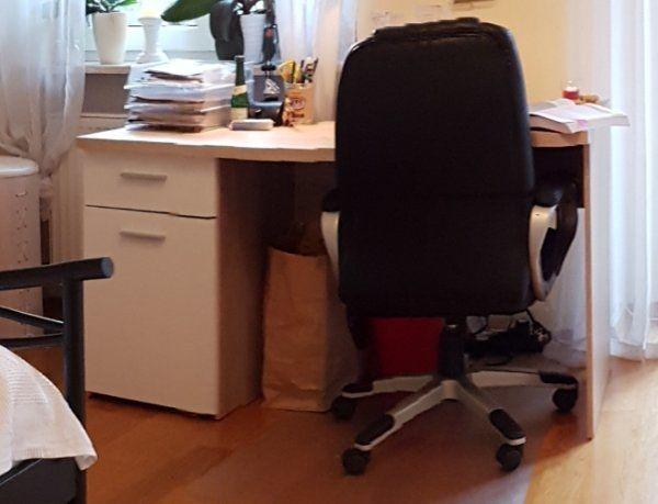 Schreibtisch Sonoma Eiche Weiss In Bolanden Buromobel Kaufen Und