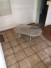 Marmortisch höhenverstellbar Tisch Wohnzimmer Marmor