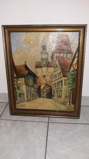 Rothenburg ob der Tauber Öl