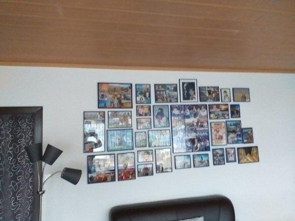 Bilderrahmen - Neuwied Heimbach-weis - Wir renovieren und brauchen keine Bilderrahmen mehr 37 rahmen von klein bis groß alle in blau und alle ohne Kratzer wie neu - Neuwied Heimbach-weis