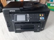 EPSON WF-3640 inkl 8 Farbpatronen