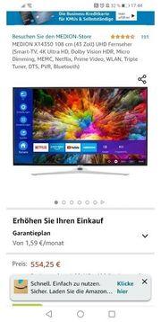 Smart TV 4K 43 Zoll