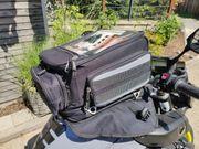 Motorrad Tankrucksack Magnetbefestigung dreiteilig erweiterbar