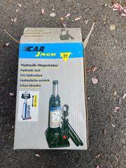 Wagenheber hydraulisch bis 2 Tonnen