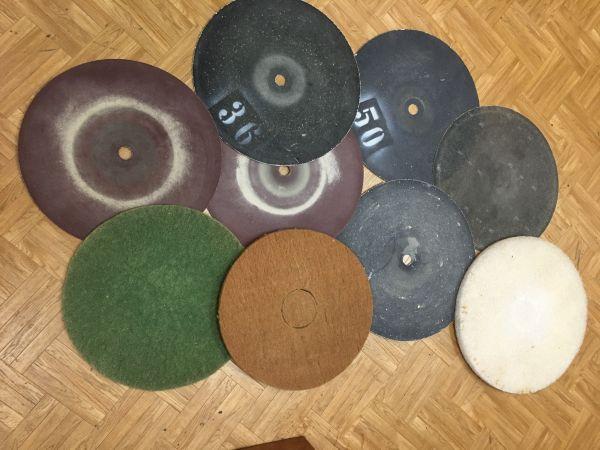 Schleif- und Polierscheiben für Parkettschleifer